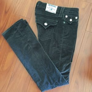 True Religion Jeans size 26 missing a button