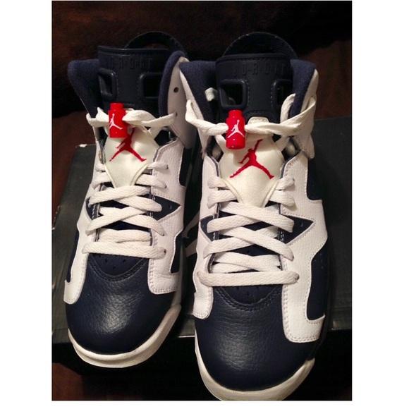 brand new 74d56 c7379 Air Jordan retro 6 2012 Olympic size 6. Nike. M 57f95cd1d14d7ba633013467.  M 57f95cd3291a35e37c0134b5. M 57f95cd55a49d06a7f013647.  M 57f95cd6522b45f9fa01323f