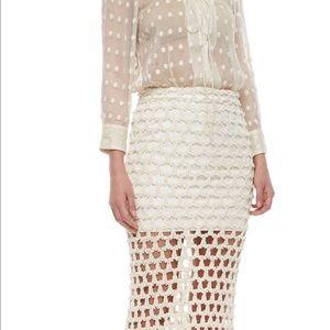 IRO Oletta Open weave-Maxi Skirt