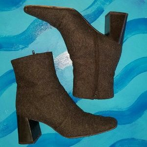 Anne Taylor Shoes - EXPRESSO felt boot