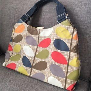 Orla Keily Handbags - Oral Kiely Stem Shoulder Bag