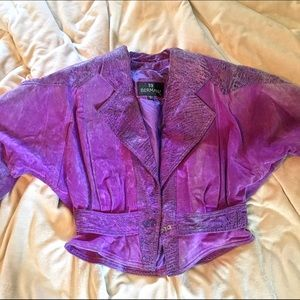 DISCOUNTED SHIP Vintage Leather/Suede Jacket