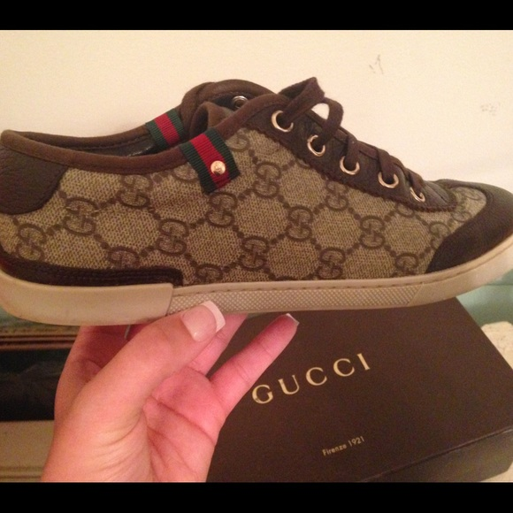 Used Authentic Gucci Sneakers