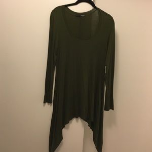 Ariella Tops - Olive green tunic