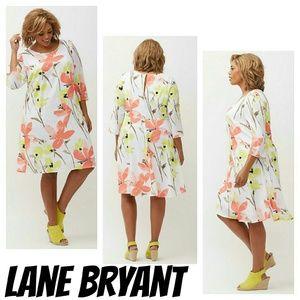 Lane Bryant Dresses & Skirts - Lane bryant PRINTED SHIFT DRESS 2x 3x 18 20 22 24