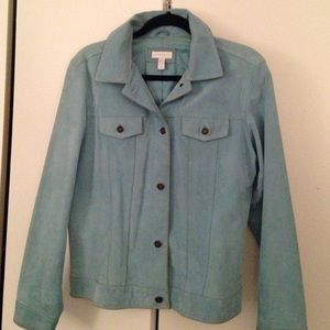 Suede jacket- Charter Club