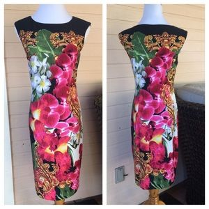 Carmen Marc Valvo Dresses & Skirts - Designer Tropical sheath dress