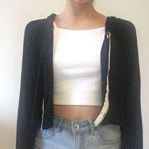 Soft Brandy Melville Cropped Jacket