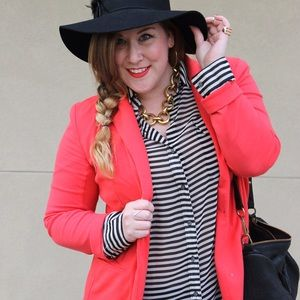 Old Navy Tops - Stripe Button Down Blouse