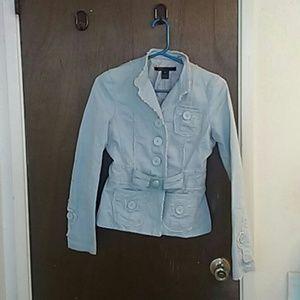 Marc Jacobs Jackets & Blazers - Marc Jacobs light blue  cotton jacket