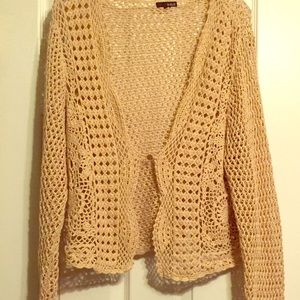 Crochet Cardigan Sweater