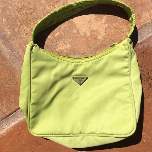 6704f9d147 ⬇️Sale ❗️Authentic❗️Prada Lime Green mini bag. M 57f9847efbf6f953b10029e3