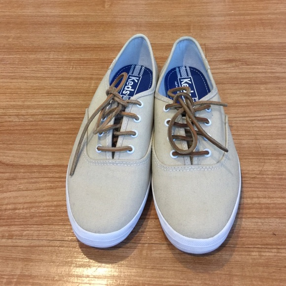 cefed9985d839 Keds Shoes - Keds Champion Canvas Sneakers with Leather Laces