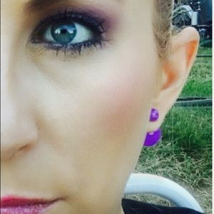 lil+Lo Jewelry - High Low Tribal Earrings Double Sided