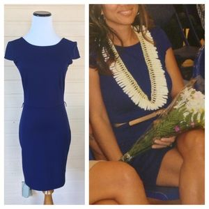 Planet Gold Dresses & Skirts - Navy blue low back dress