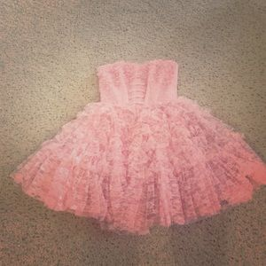 Betsey Johnson Dresses & Skirts - Betsey Johnson Girlie Lace Dress