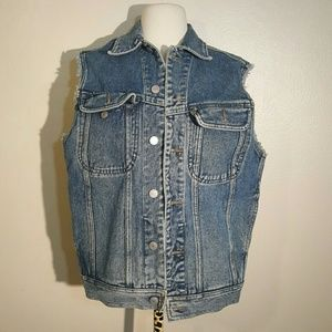 Esprit Jackets & Blazers - Vintage Esprit Denim Cutoff Jacket