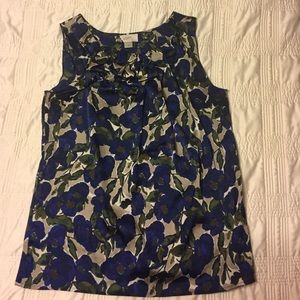 Loft floral blouse XS