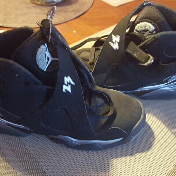 big sale 0c3ad 3e0d1 Jordan Retro 8 Chrome shoes size 4.5 y / 6.5 women