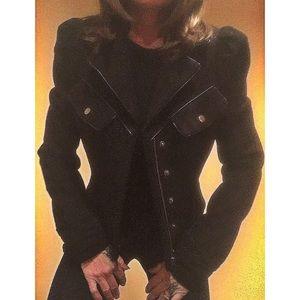 Rampage Jackets & Blazers - Blazer with leather accent