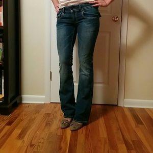 Buffalo David Bitton Pants - Buffalo David Bitton medium wash boot cut jeans