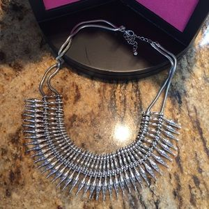 Jewelry - Silver Spiked Necklace