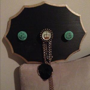 Jewelry - Handmade jewelry hanger (mounts to wall)