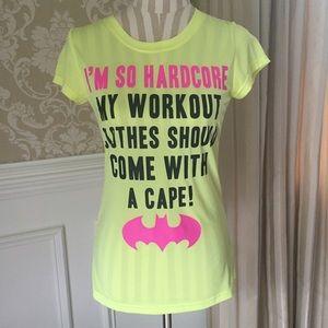 Batman Tops - Funny Batman workout top...size L