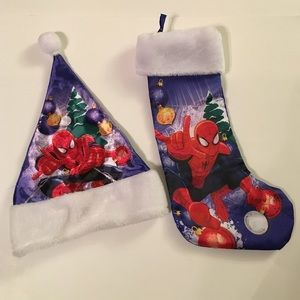 Spider-Man Hat and Stocking