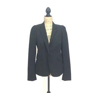 J. Crew Jackets & Blazers - J crew single button black schoolboy regent blazer