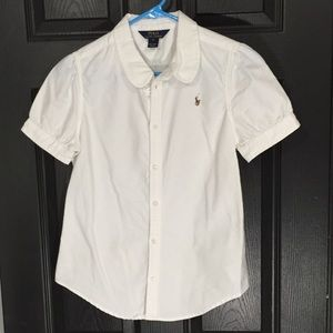 Polo by Ralph Lauren Other - Polo Ralph Lauren White Button Top Size 16 💗