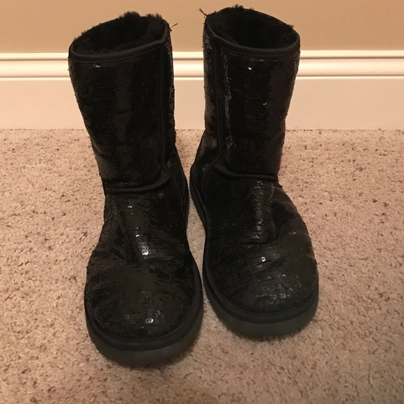 71 ugg shoes ugg black sparkly boots from s