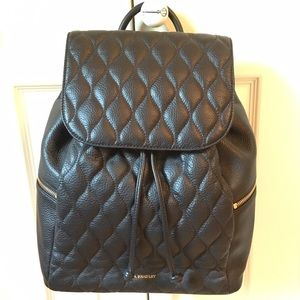 NWT Vera Bradley Amy black backpack