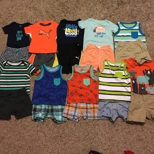 Other - Baby boy Shorts and Tops