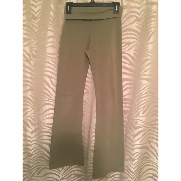 Hard Tail Olive Yoga Pants From