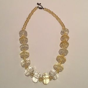 Gorgeous Yellow Statement Necklace