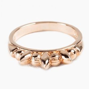 Pamela Love Rose Gold Thin Spike Ring