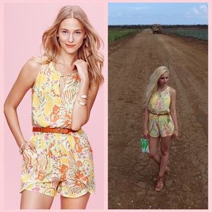 SOLD Lilly Pulitzer for Target 'Happy Face' Romper