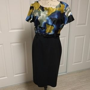 Alex Marie Dresses & Skirts - Alex Marie Multicolored dress with belt.