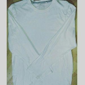 Easy Esential Other - 🎉🌠MEN'S Long Sleeve Plain White Tee