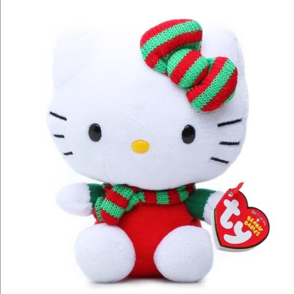 Cozy - Hello Kitty TY Beanie Baby Mini Plush bcb13d687c8c