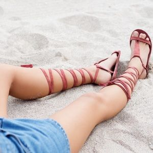 Free People Shoes - Free People LaceUp Sandal