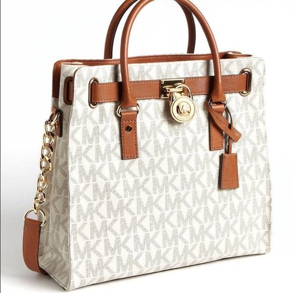 4e22924d7dee Michael Kors Bags | Large Hamilton Logo Tote | Poshmark