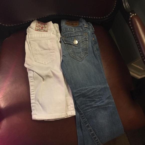 89% off True Religion Other - True religion girls jeans ...
