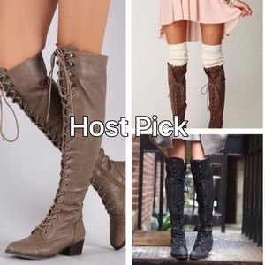 Breckelles Shoes - Over the Knee Fashion Boots 🆕