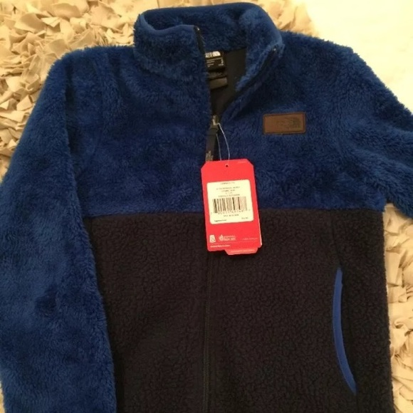 c8bbde1156c8 North Face Sherparazo Boys Fleece Jacket