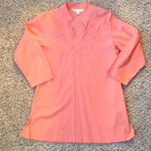 Krazy Kat Tops - Coral Tunic!