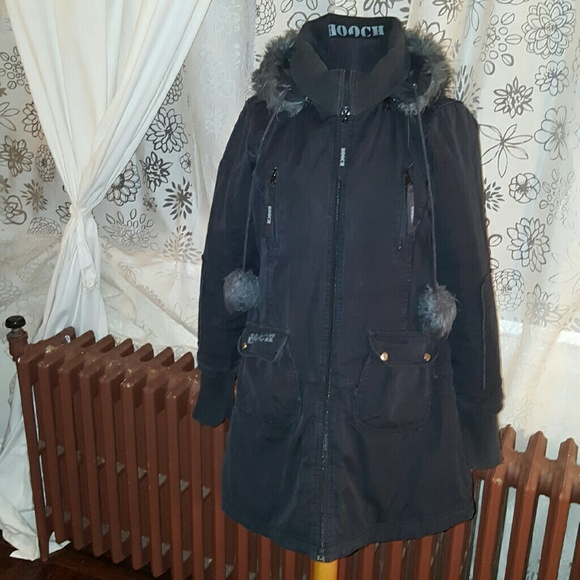dccde8ec1c ... brand new f276a 65ef0 Hooch Structured Coat wremovable faux fur hood   buy ...