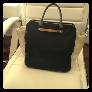 Marc Jacobs Black and White Leather Bag
