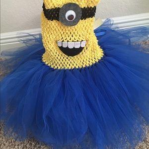 Custom made Minions Girl costume
